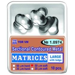 № 1.974 Metall sektsioonmatriitsid 50 tk