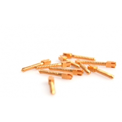 Goldplated Screw Posts